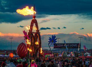 EDC Las Vegas 2019 Fire