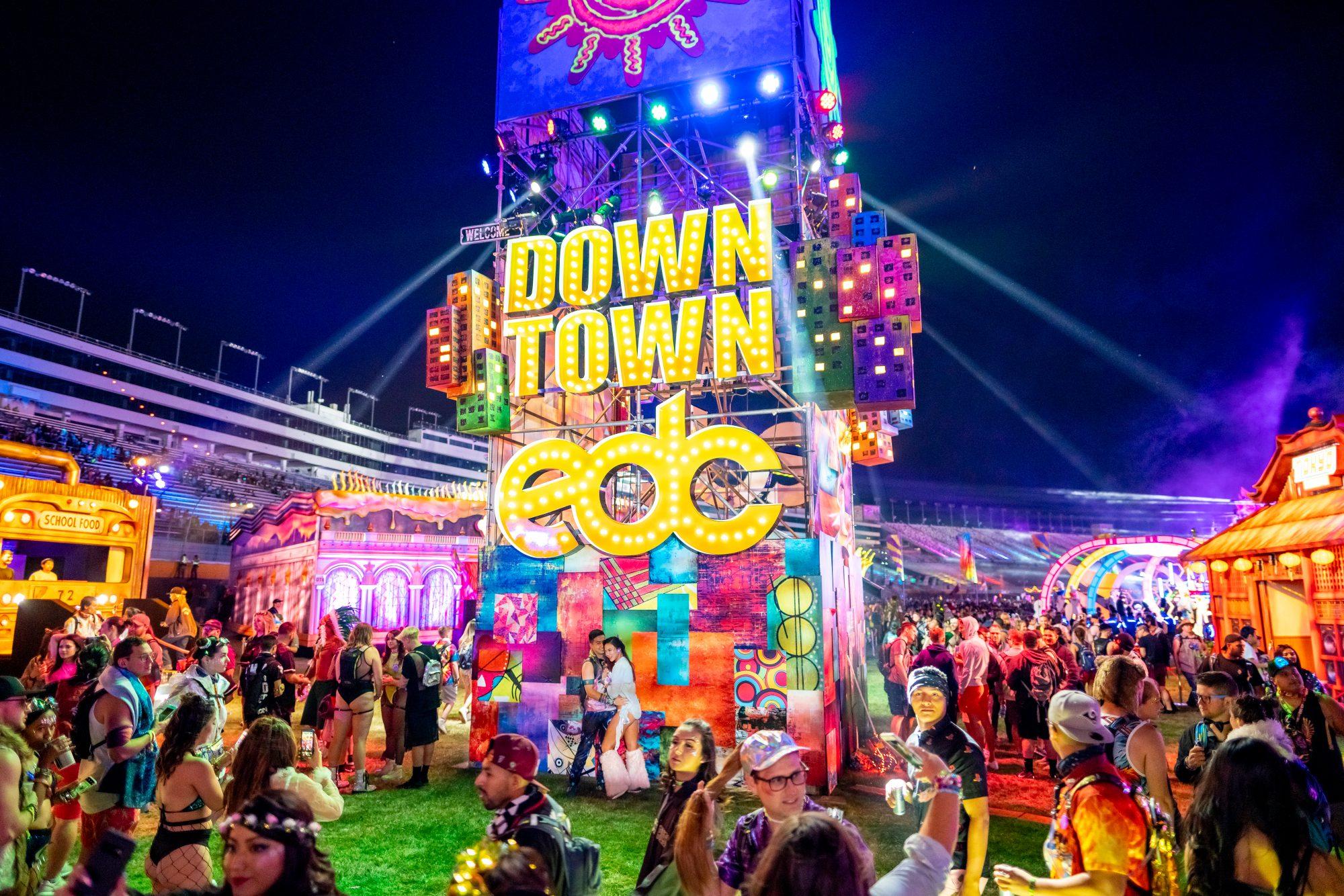 EDC Las Vegas 2019 Downtown EDC