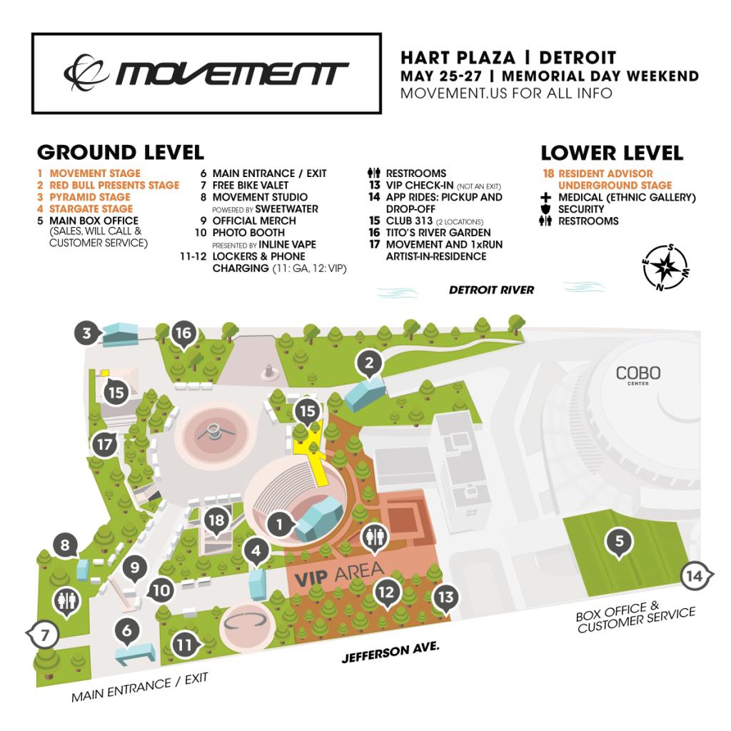Movement 2019 Map