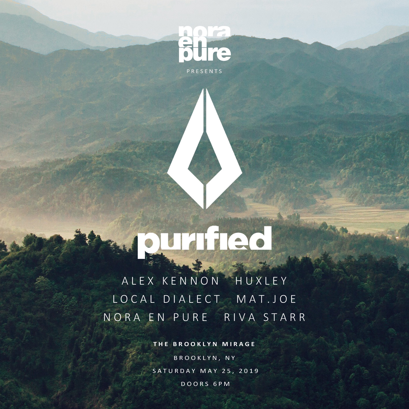 Nora En Pure Presents: Purified at The Brooklyn Mirage