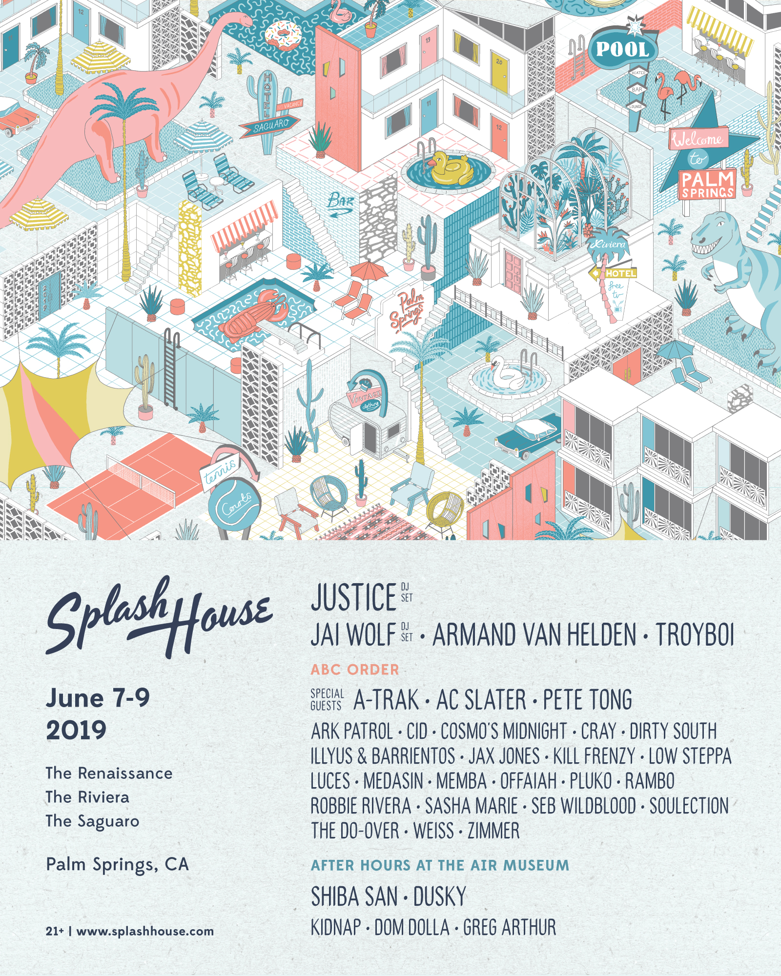 Splash House 2019 June Lineup
