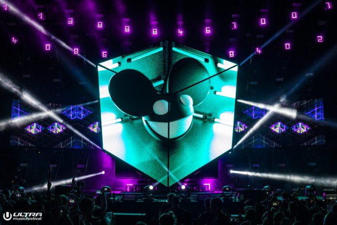 Ultra Music Festival 2019 Day 2 deadmau5 Cube V3