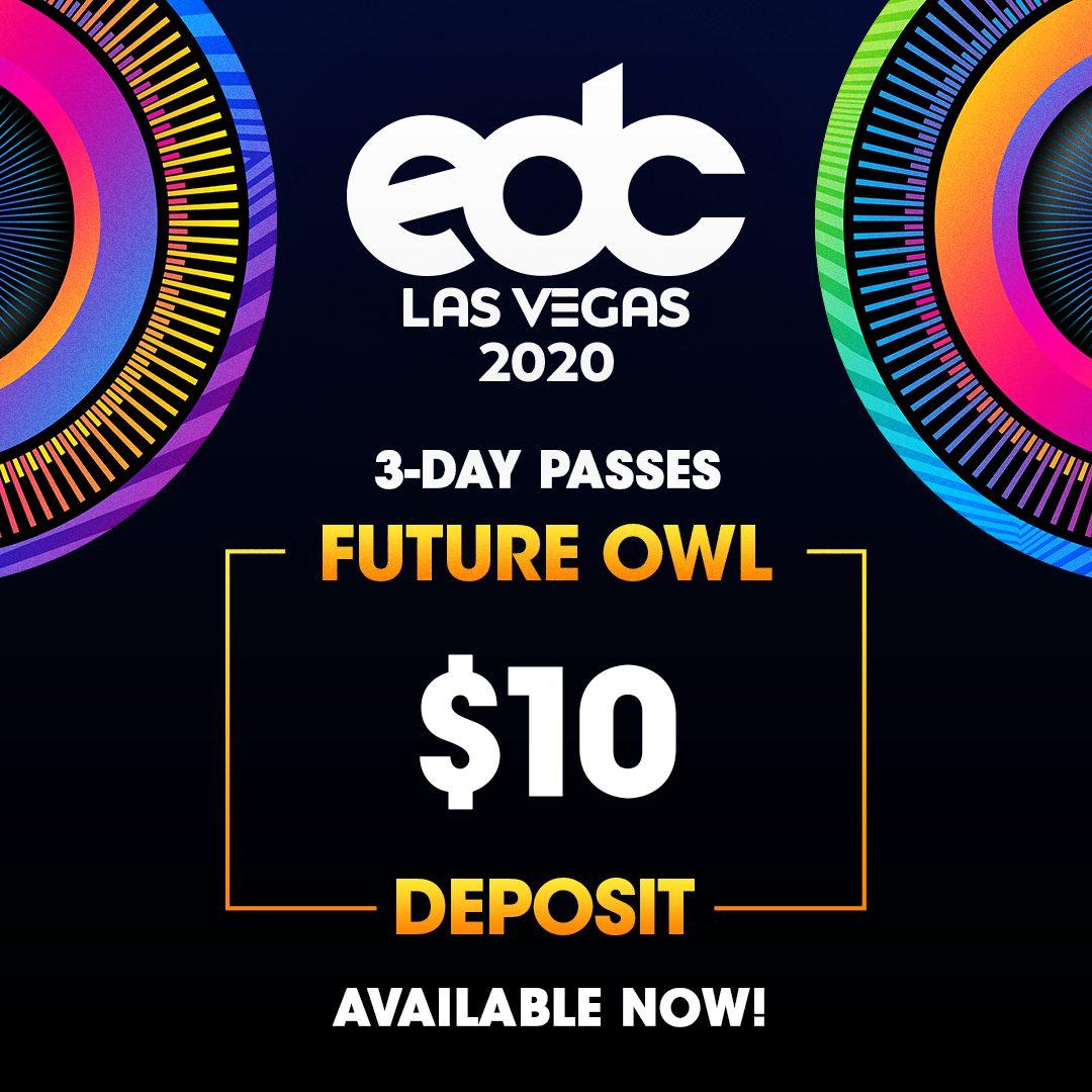 EDC Las Vegas 2020 Future Owl Sale