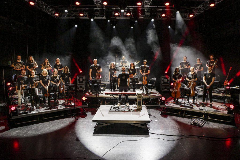 Worakls Orchestra 2019 - Credit Samy Ait Chikh