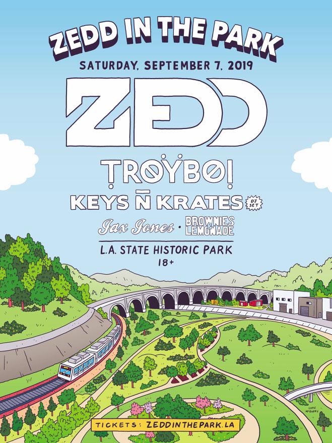 Zedd In The Park 2019