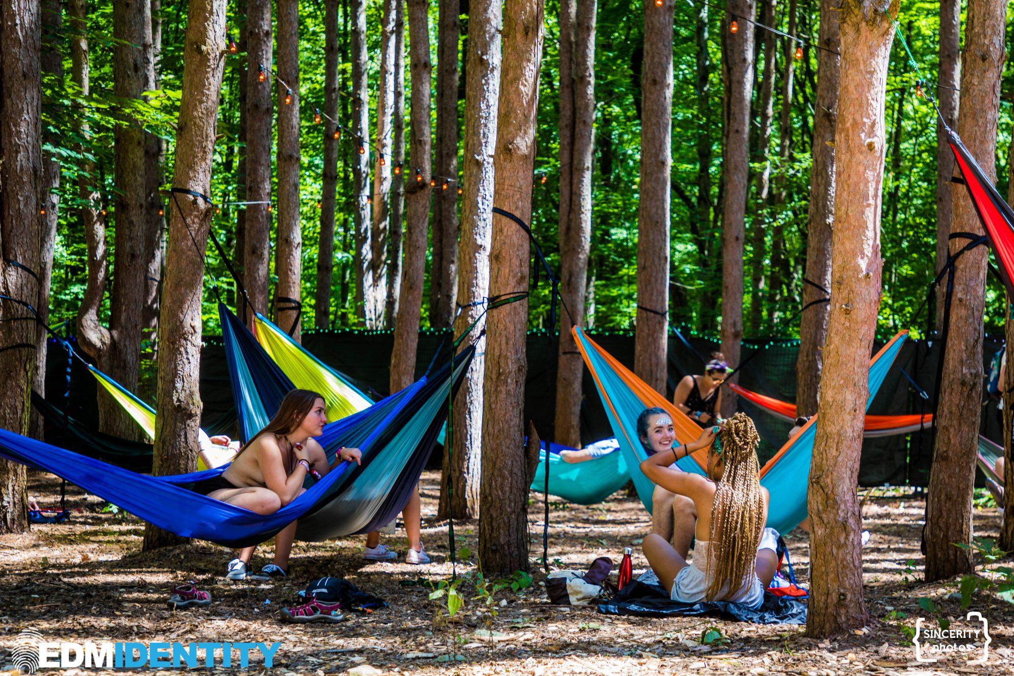 Electric Forest 2017 Hammocks