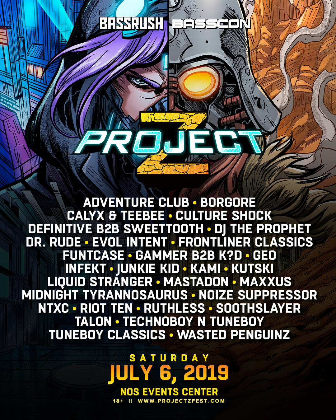 Project Z 2019 Lineup