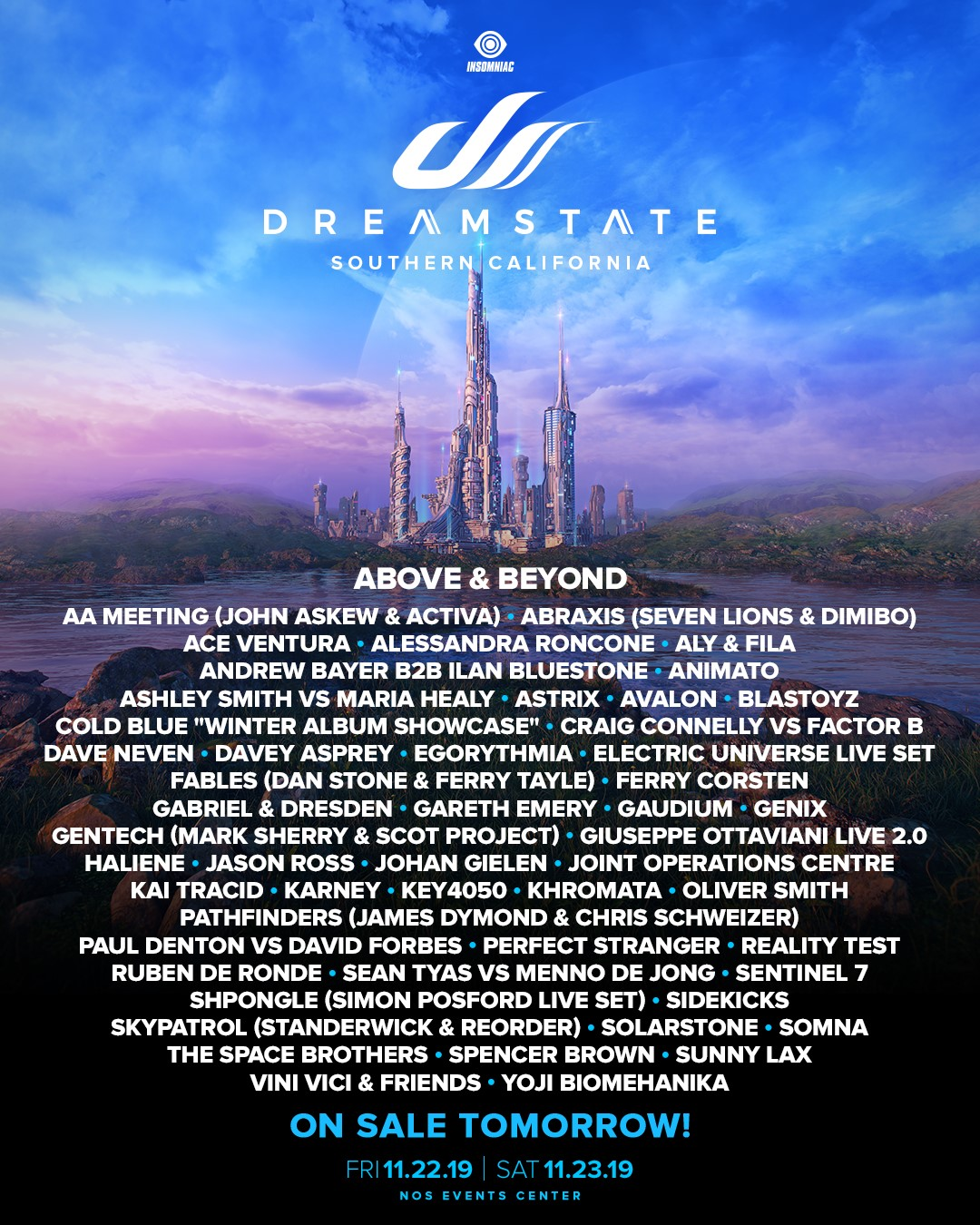 Dreamstate SoCal 2019 Lineup