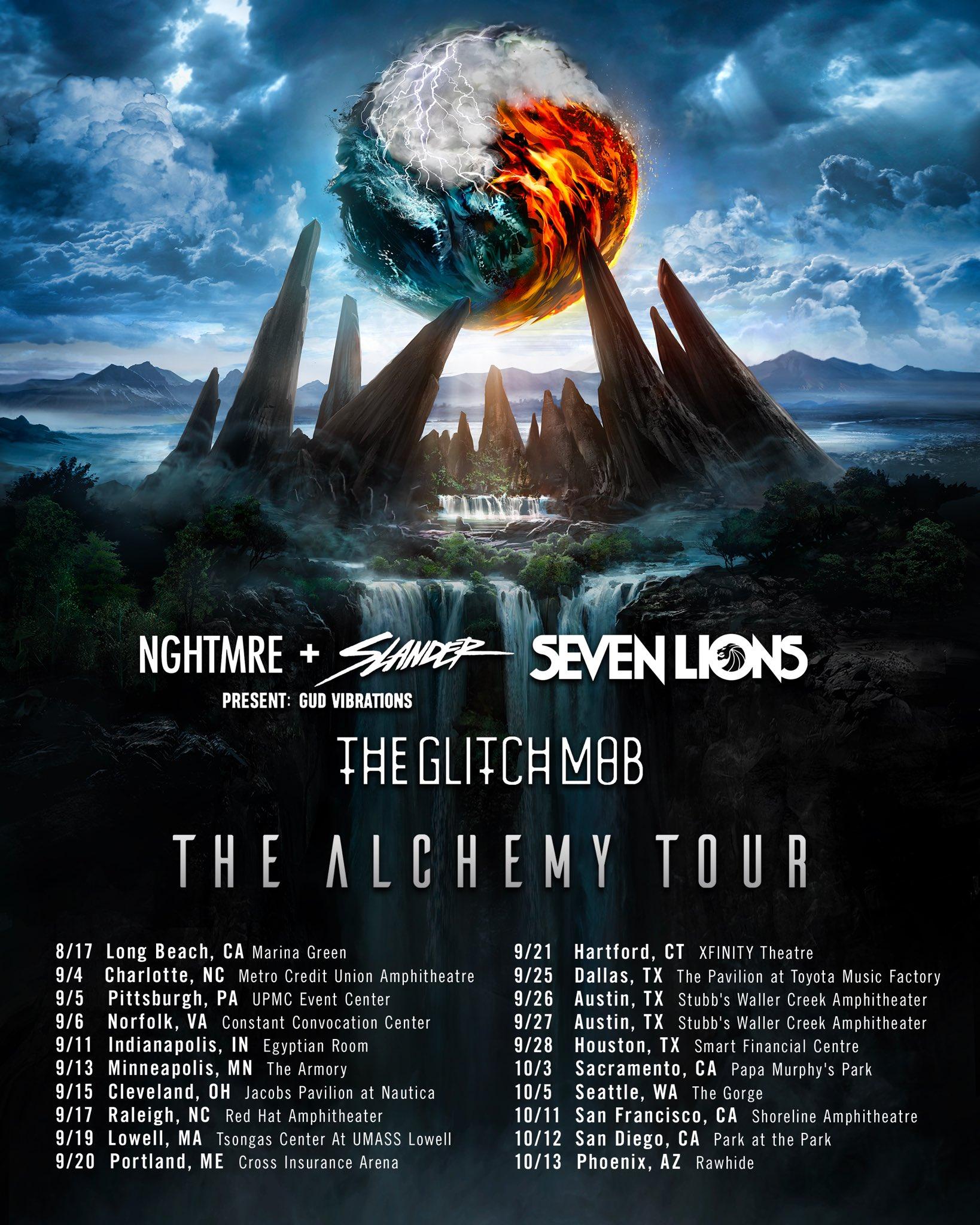 The Alchemy Tour 2019 Dates