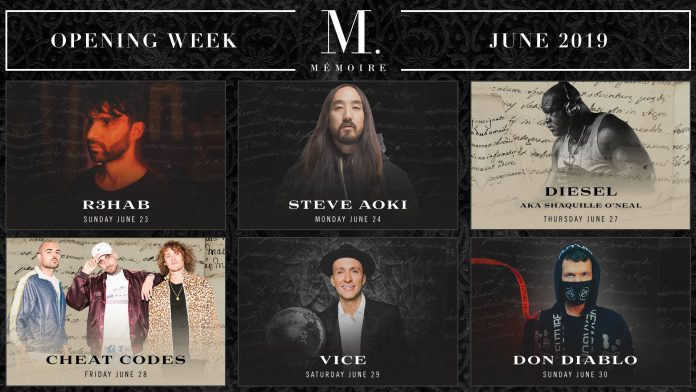 Mémoire Boston Opening Weekend