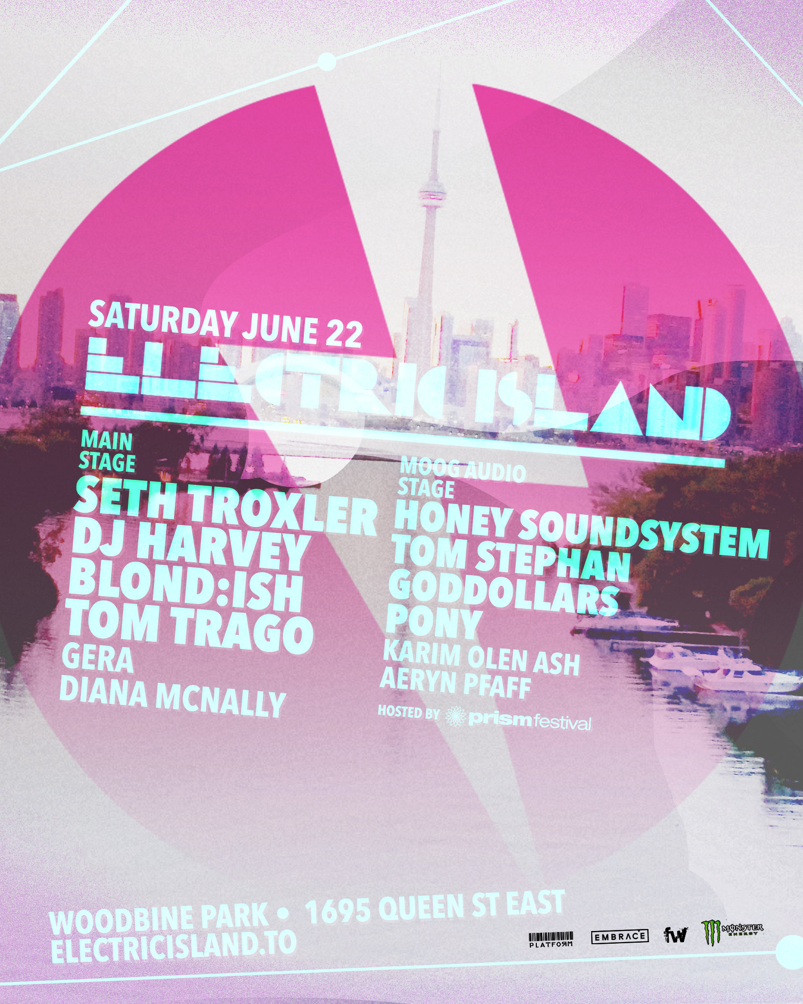 Electric Island 2019 June Edition Lineup
