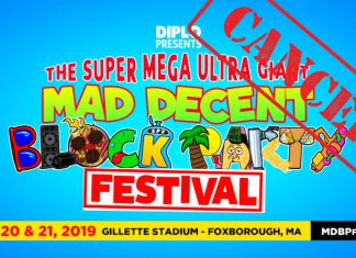 Super Mega Ultra Giant Mad Decent Block Party Cancelled