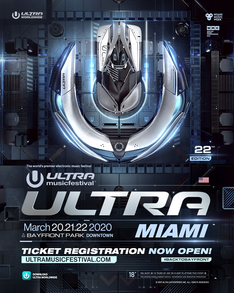Ultra Music Festival 2020 Dates