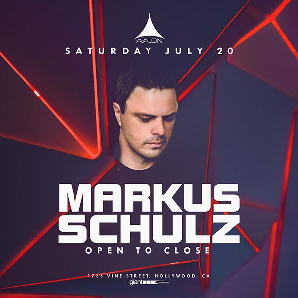 Marcus Schulz Avalon Flyer