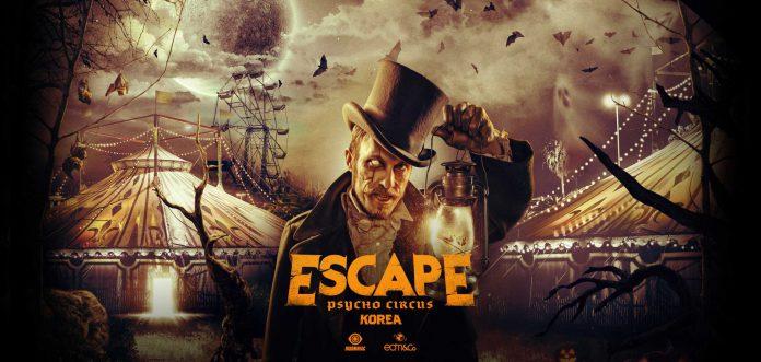 Escape Psycho Circus Korea 2019 Initial Lineup