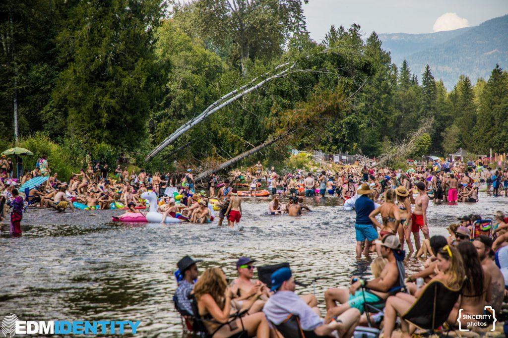 Shambhala 2019 River Jumping