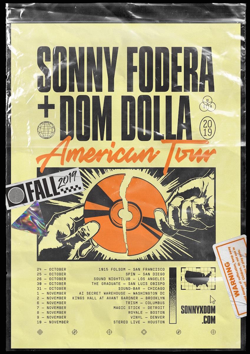 Sonny X Dom American Tour