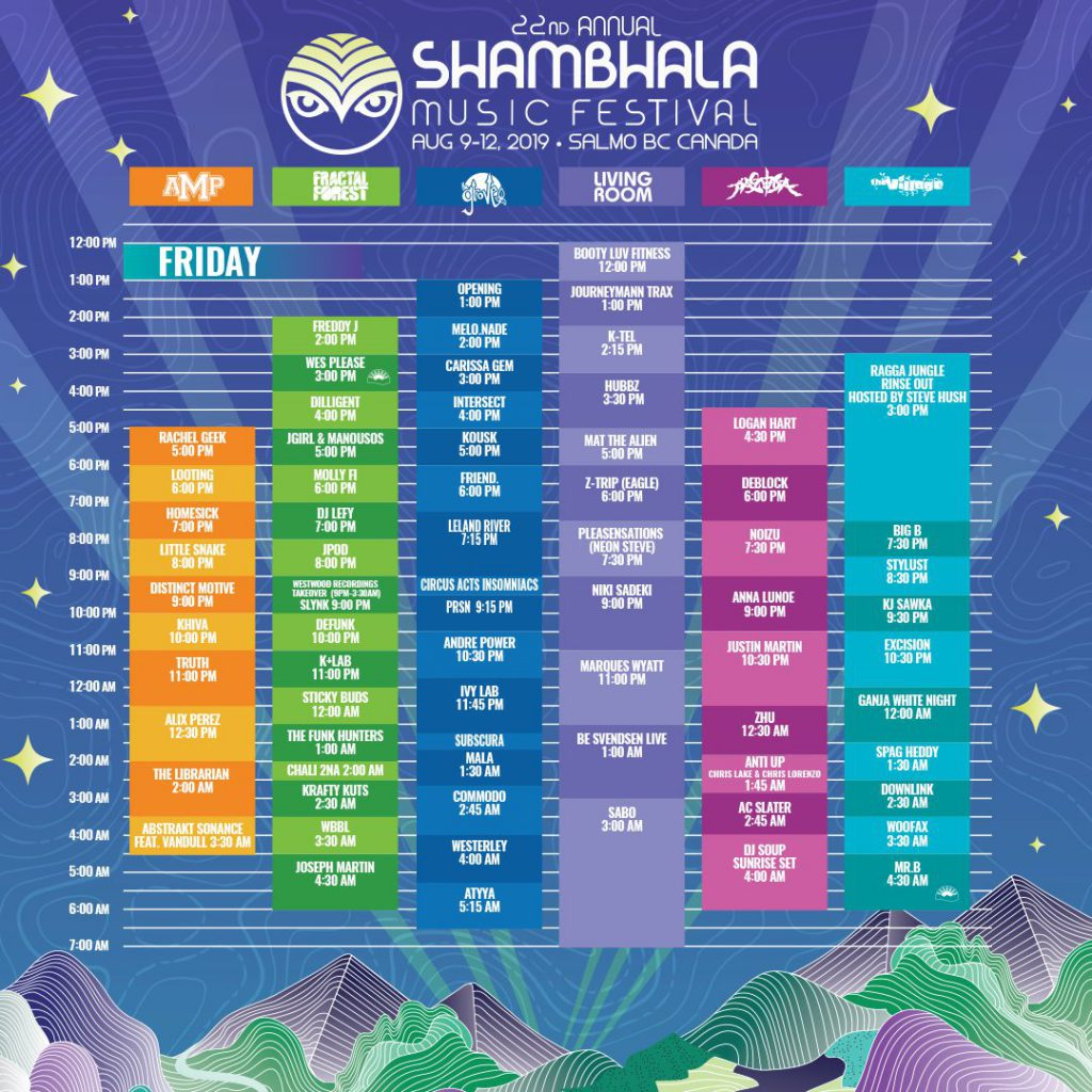 Shambhala Music Festival 2019 Friday