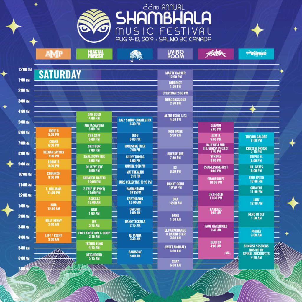 Shambhala Music Festival 2019 Saturday