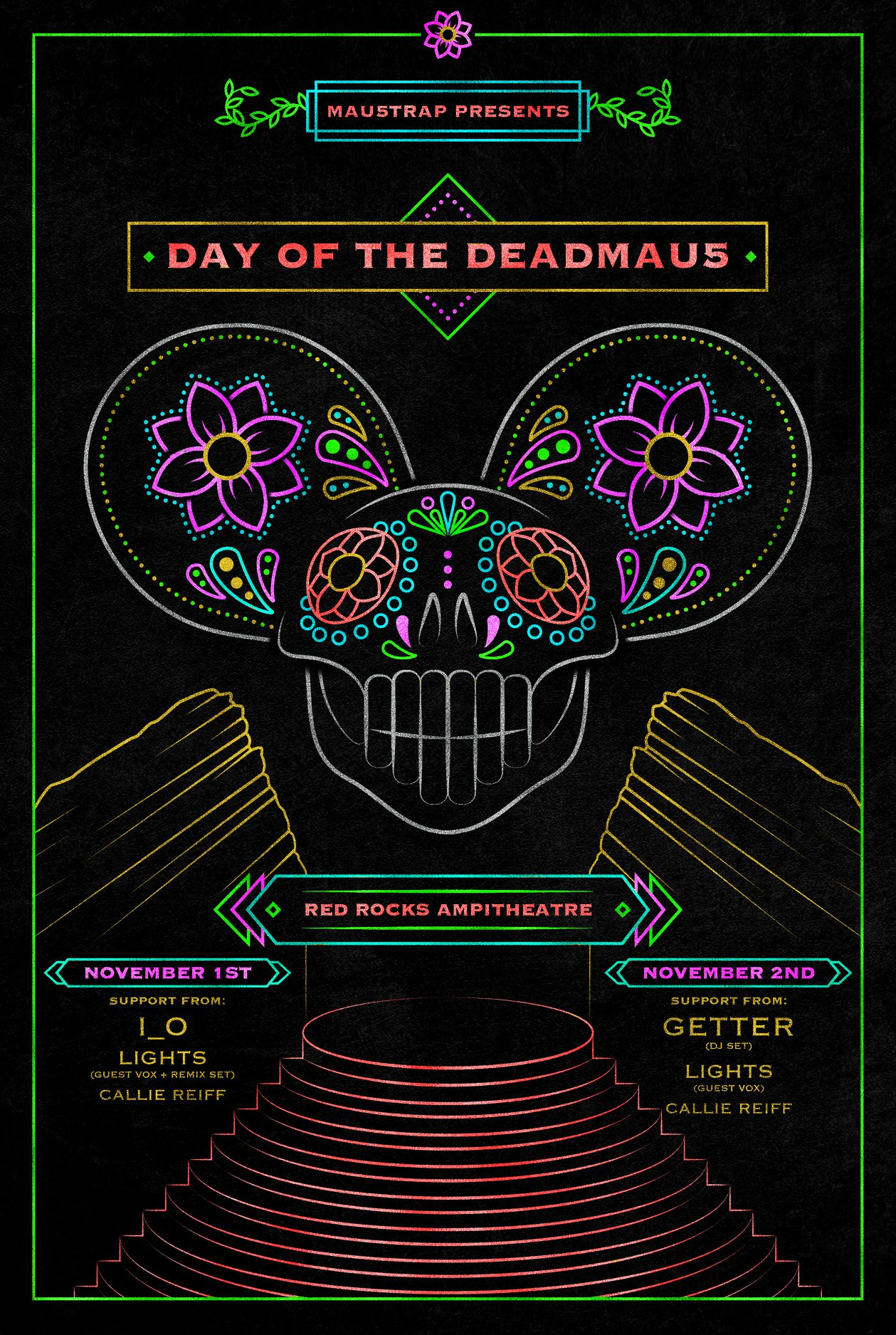 Day of the Deadmau5 Lineup