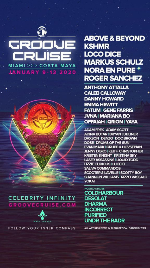 groove cruise miami 2020 lineup