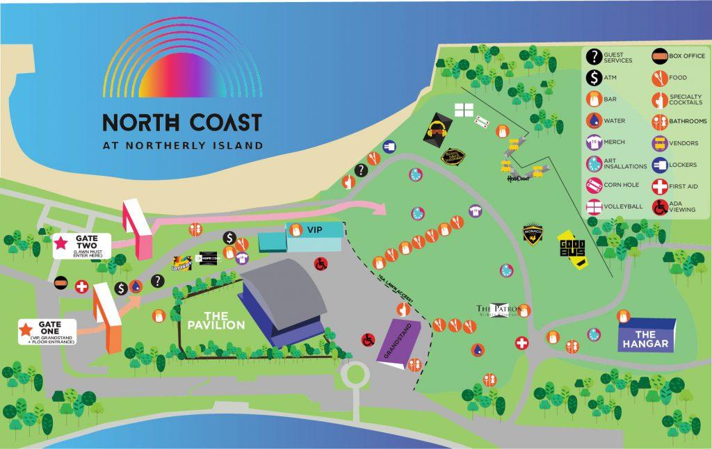 North Coast 2019 Map