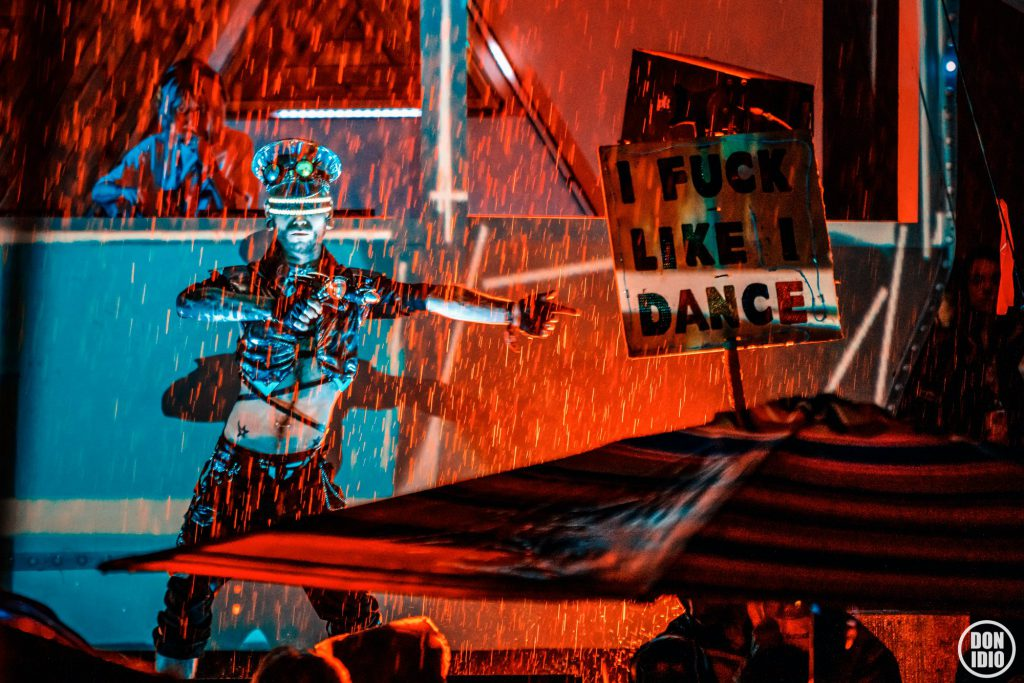 Shambhala 2019 Dance in Rain