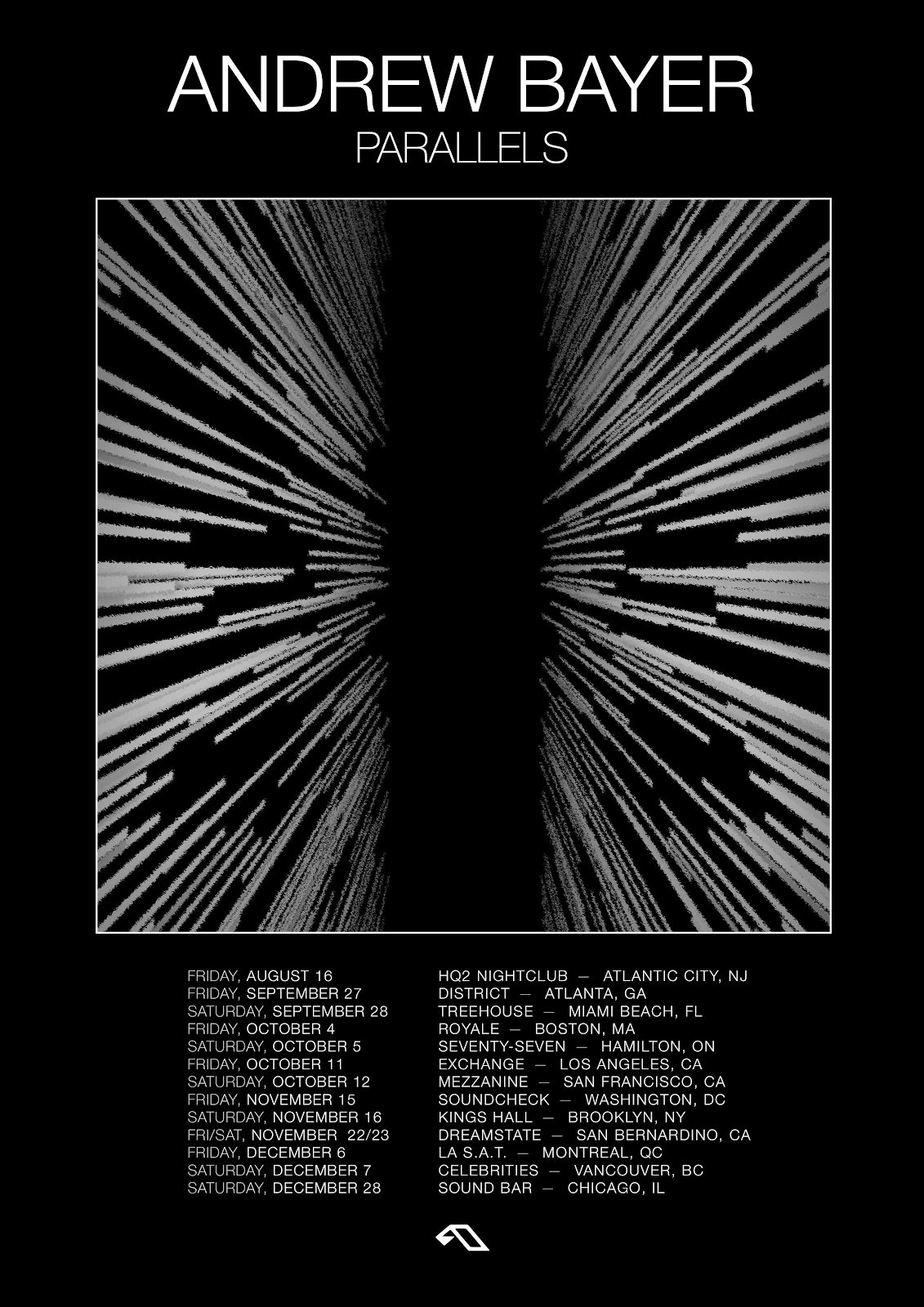 Andrew Bayer Parallels Tour