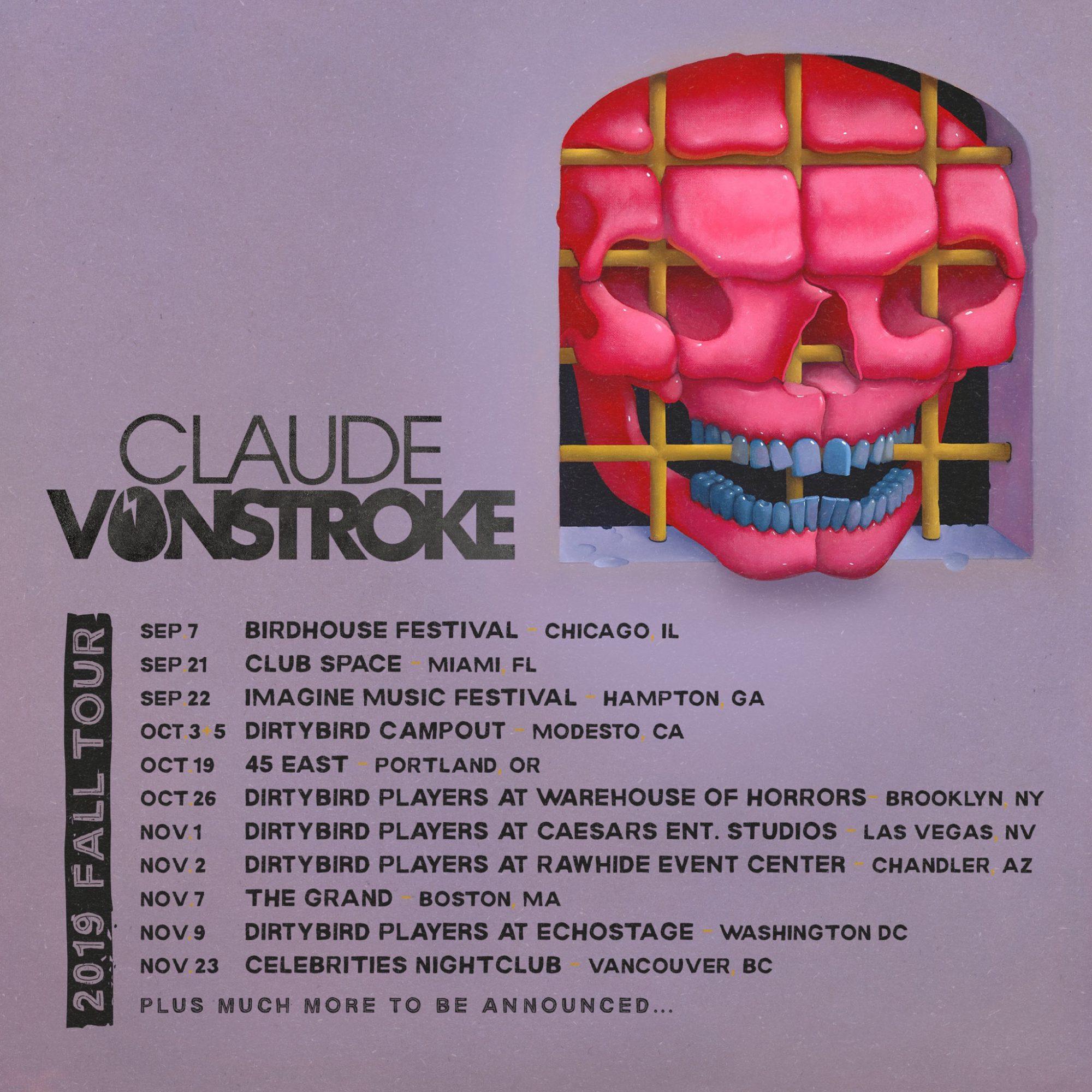 Claude VonStroke Fall Tour