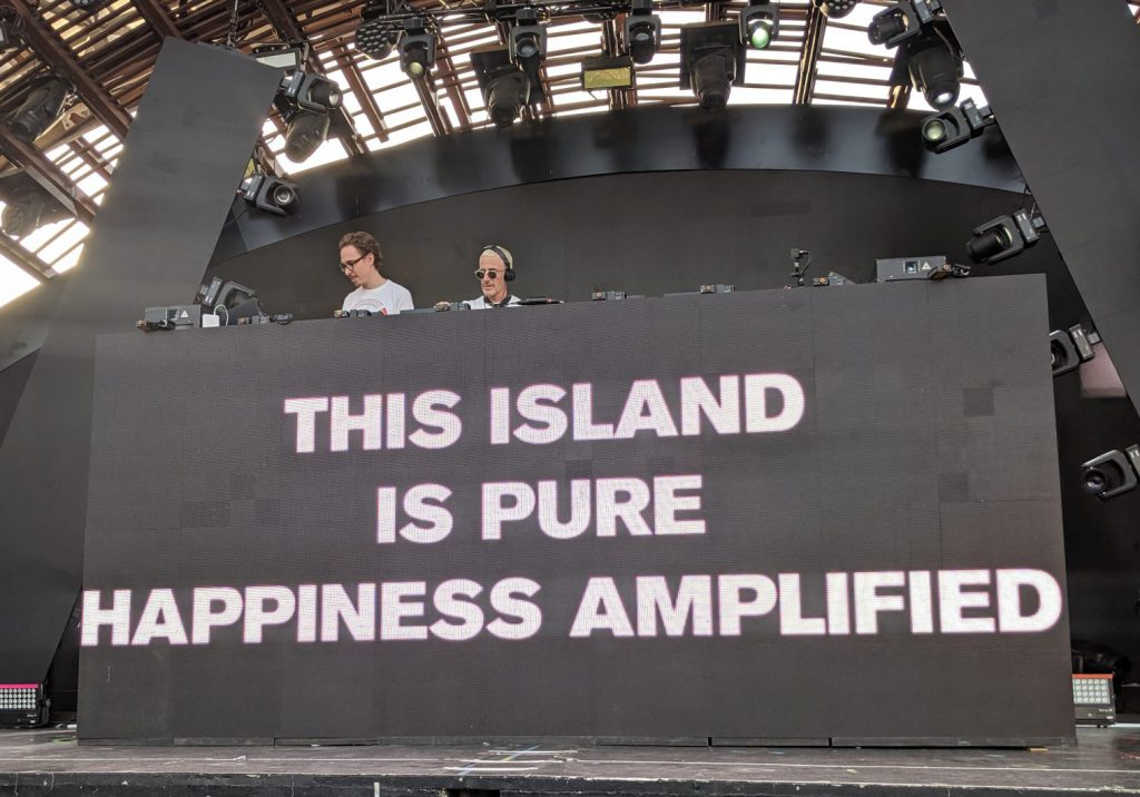 This Island is Pure Happiness Amplified - Above & Beyond at Ushuaia Ibiza