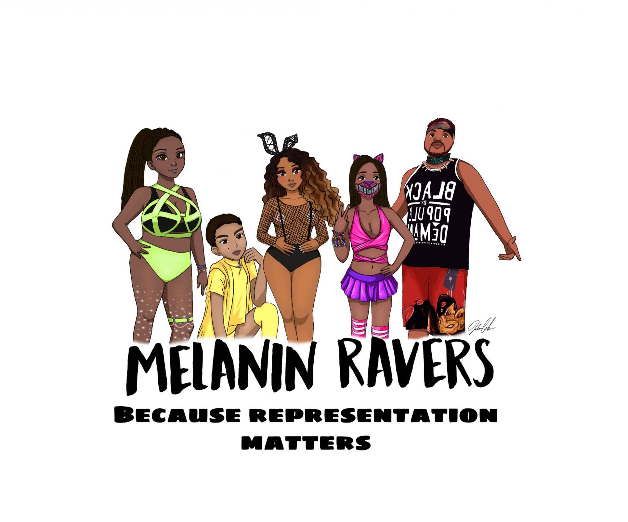 Melanin Ravers