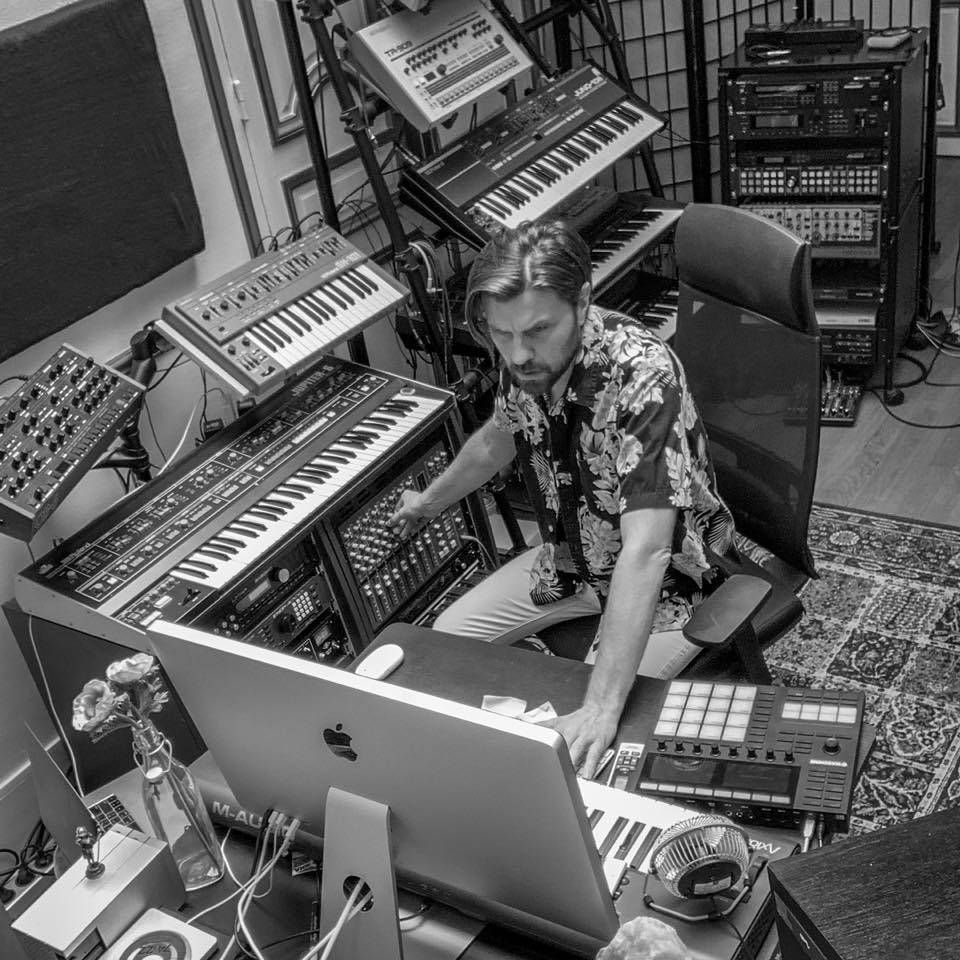 Rodriguez Jr Studio B&W