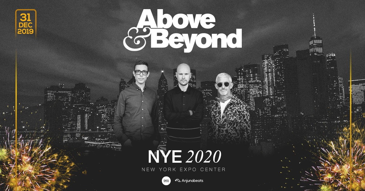 Above & Beyond New York City New Year's Eve