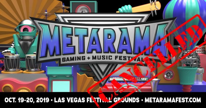 Metarama Gaming + Music Festival Officially Cancelled | EDM