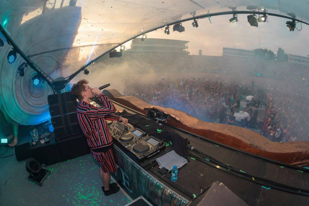 Lost Frequencies at Tomorrowland