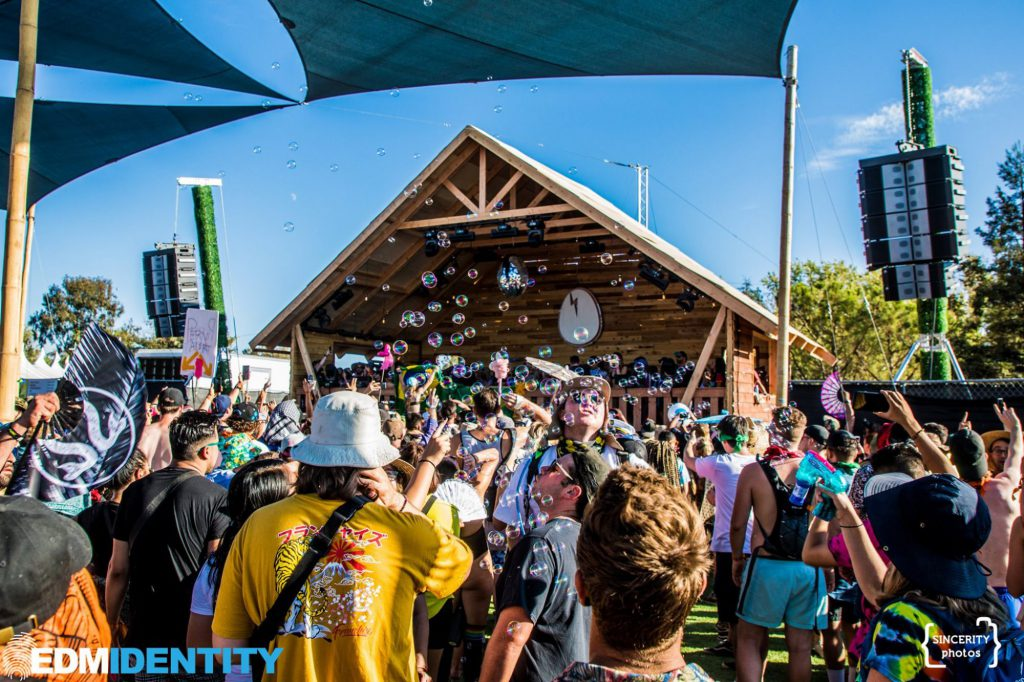 Dirtybird Campout West 2019 The Birdhouse with Bubbles