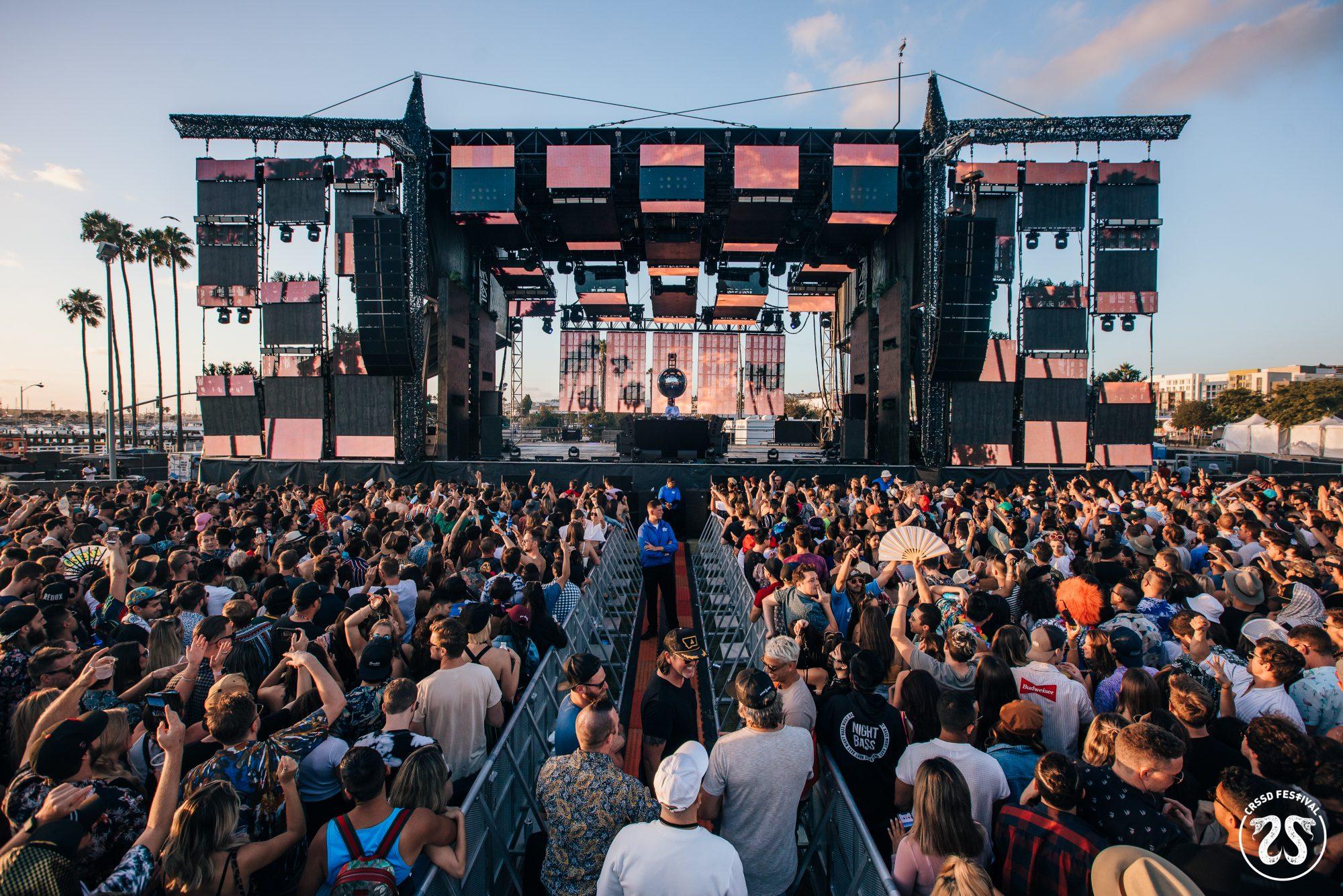 CRSSD Festival Fall 2019 Kaskade Redux