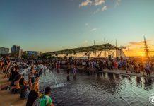 CRSSD Festival Fall 2019 Sunset