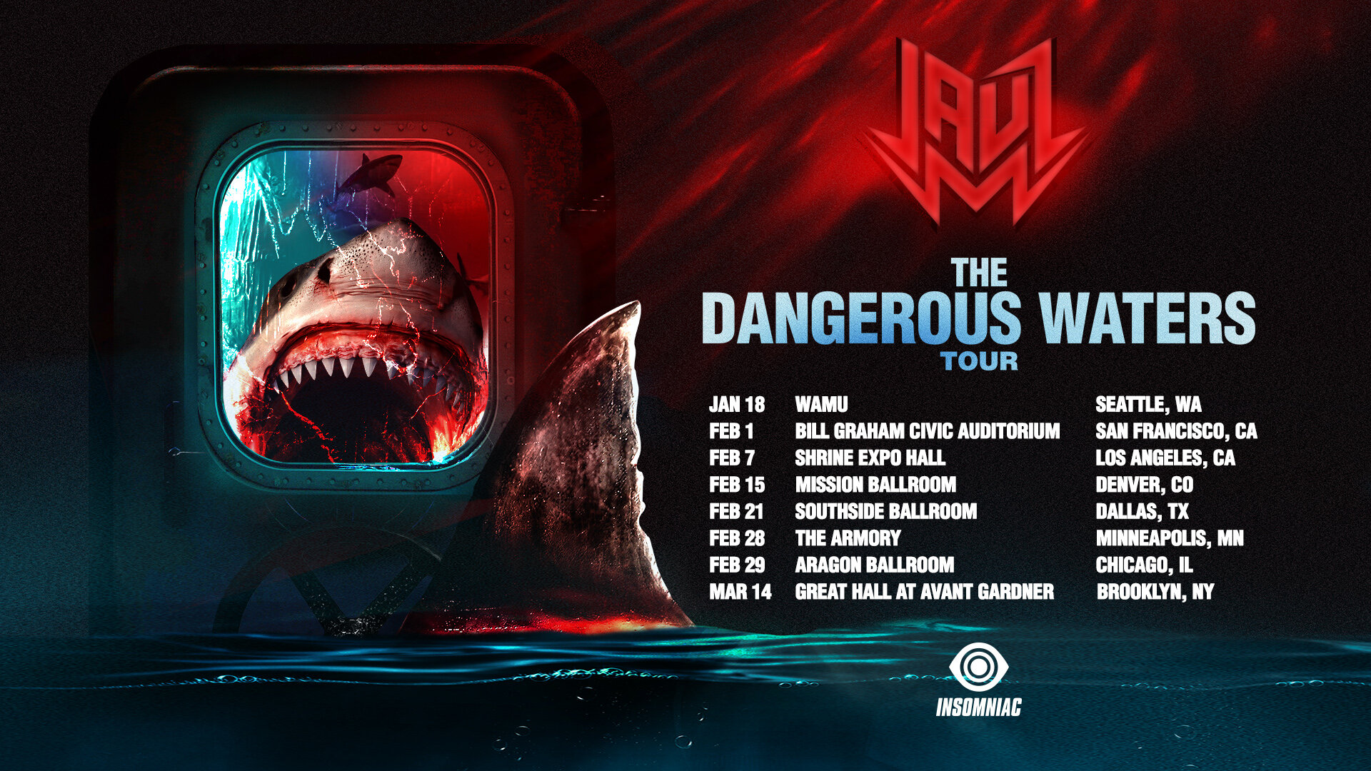 JAUZ Dangerous Waters Tour 2020