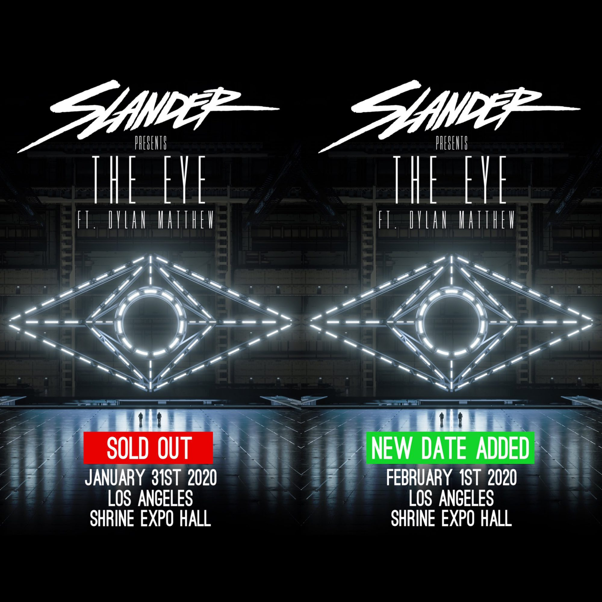 "SLANDER ""The Eye"" at The Shrine"