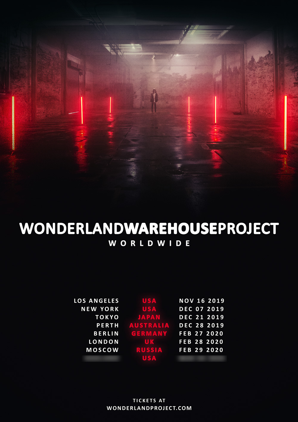 Alison Wonderland Wonderland Warehouse Project Worldwide