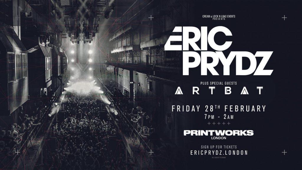 Eric Prydz Printworks 2020