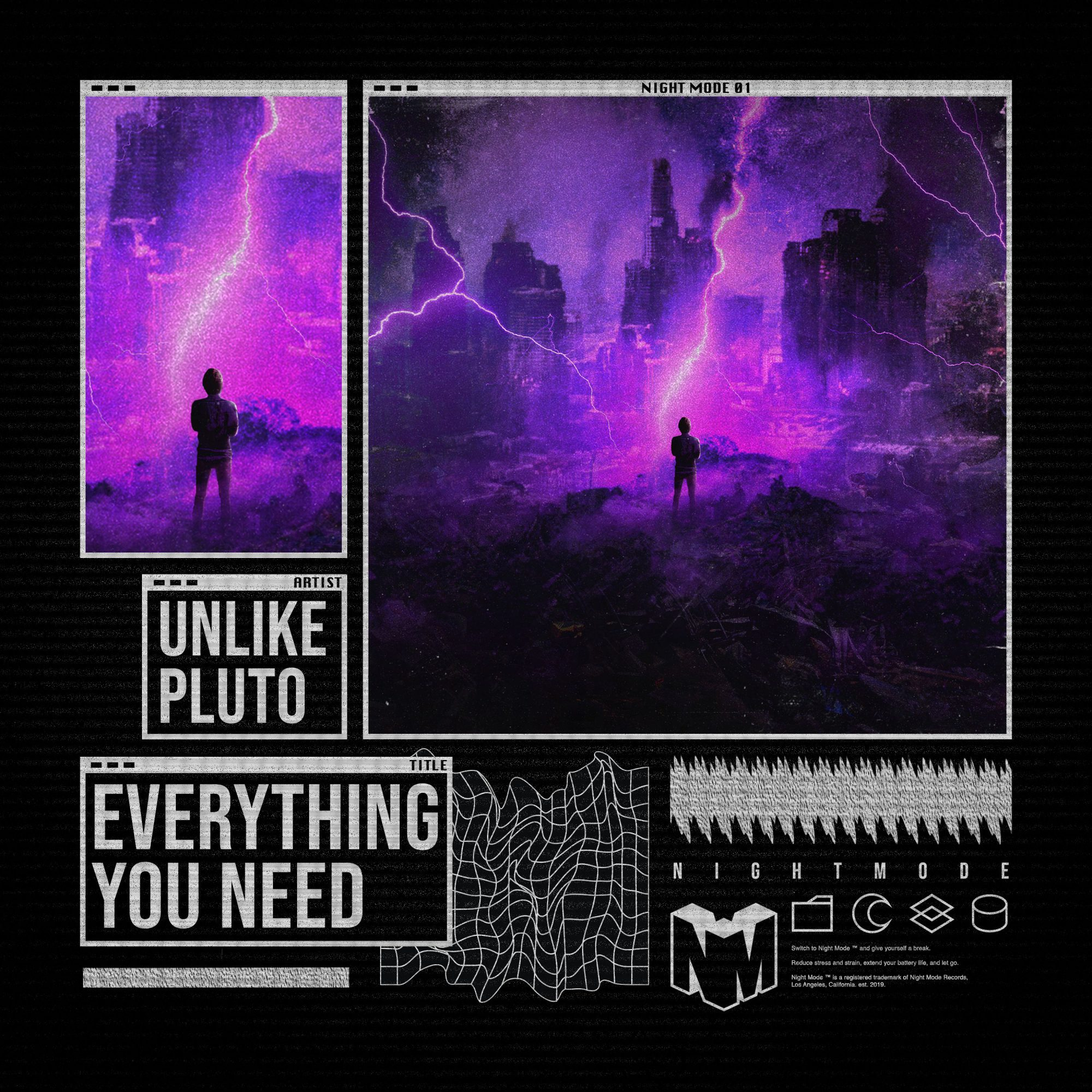 Unlike Pluto - Everything You Need Night Mode