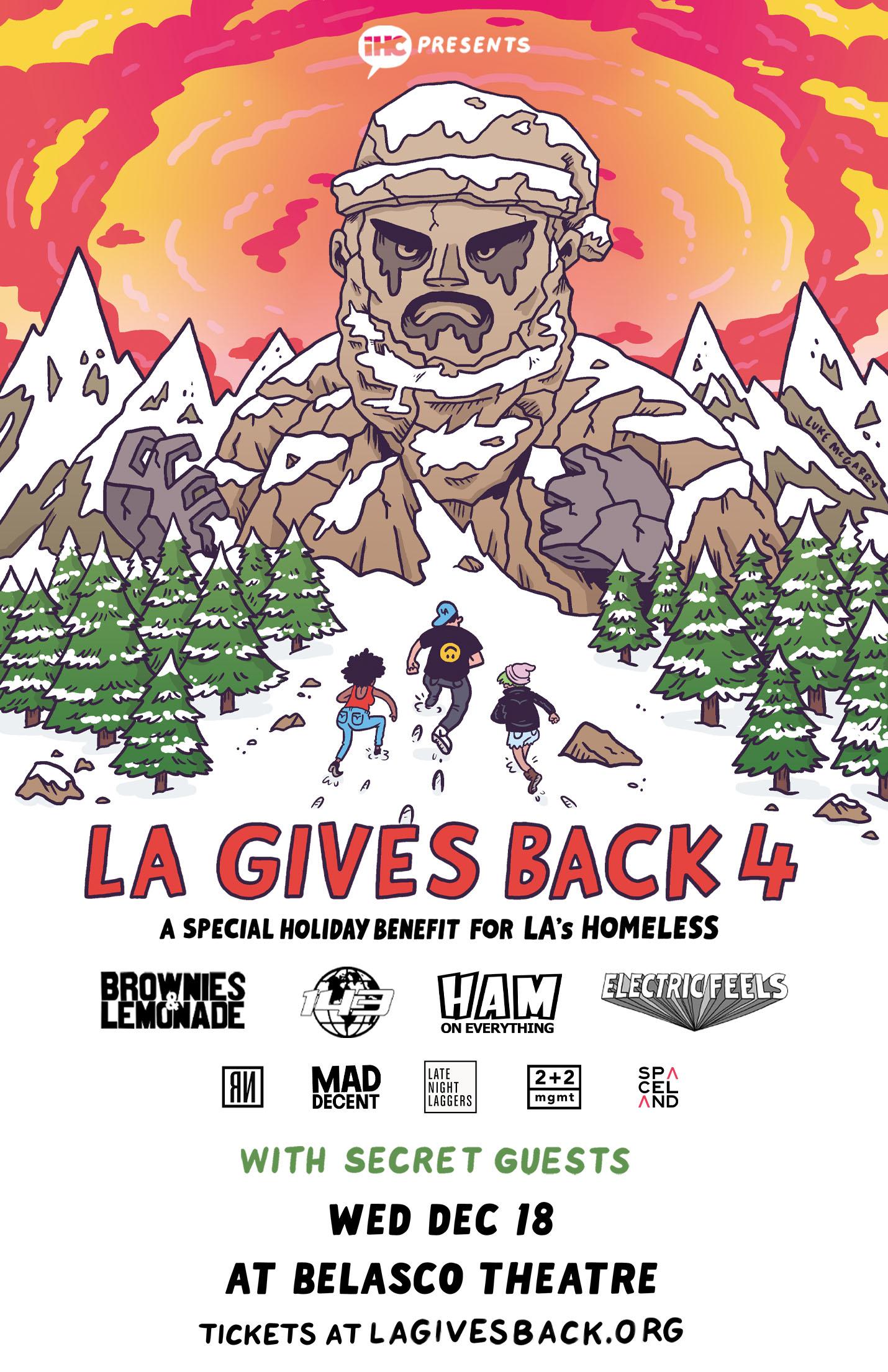 LA Gives Back 4 Poster