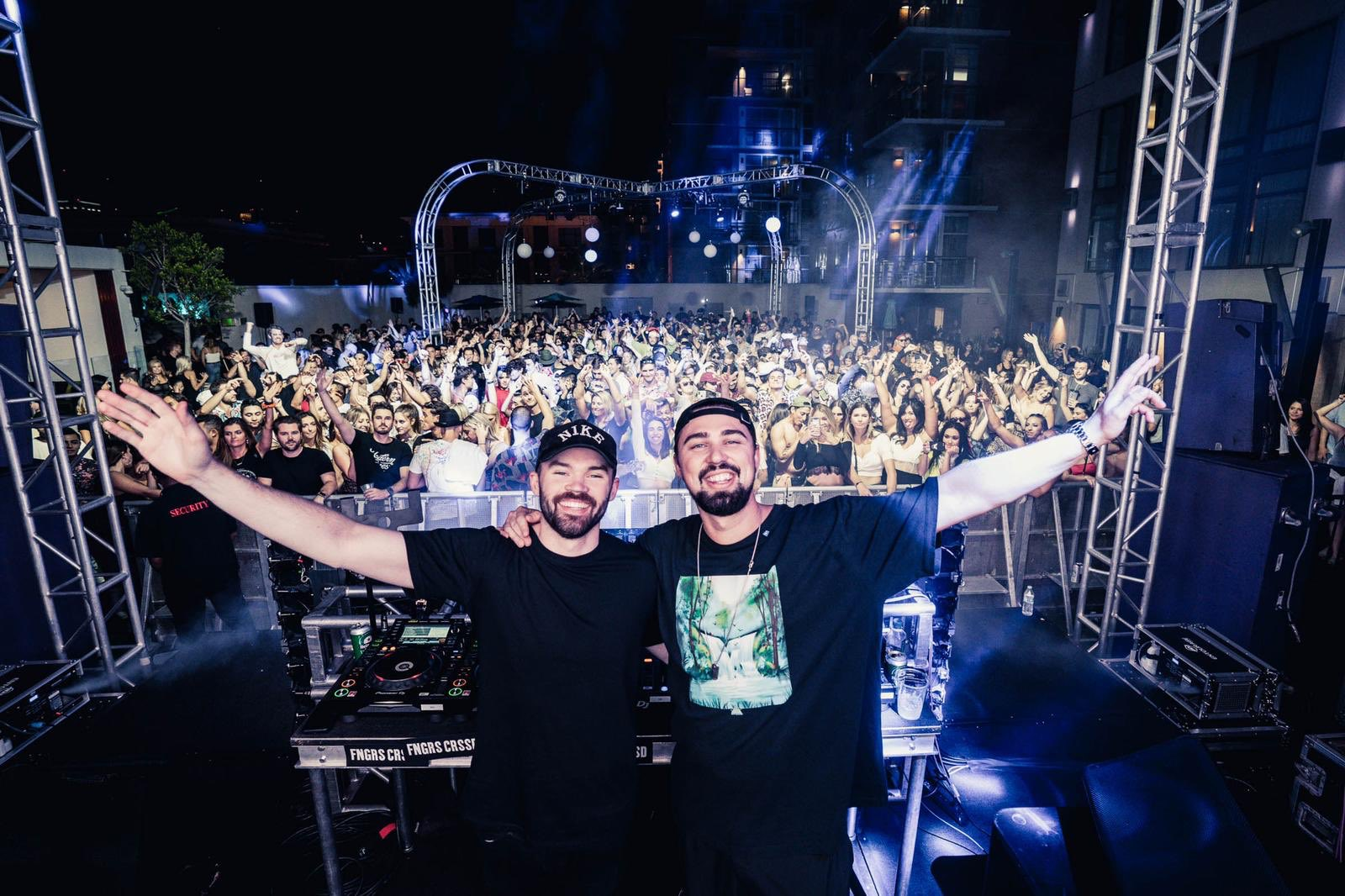Sonny Fodera and Dom Dolla in San Diego