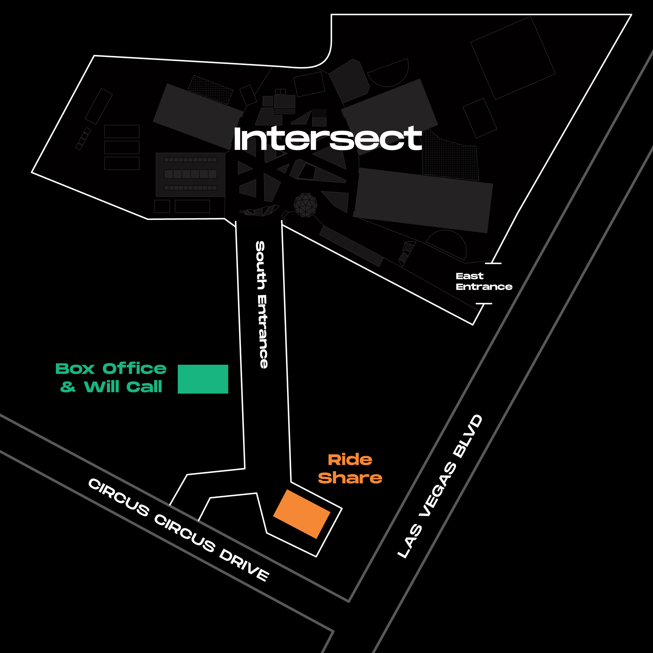 Intersect 2019 Transportation Map