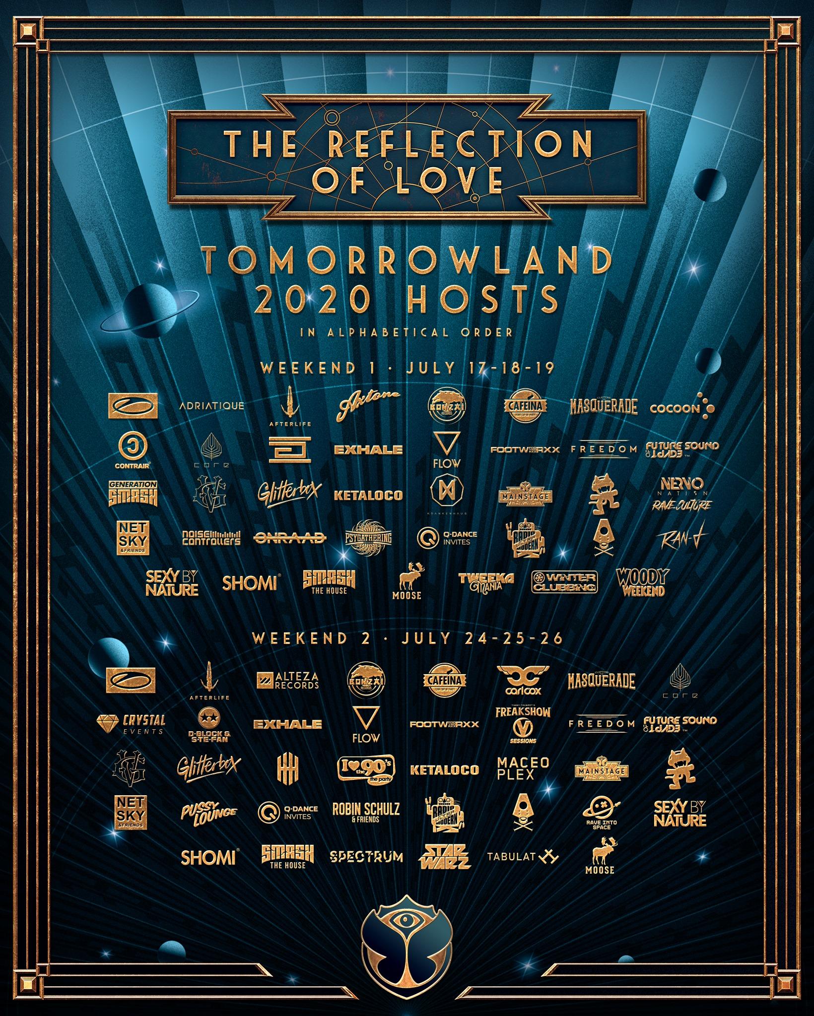 Tomorrowland 2020 Stage Hosts