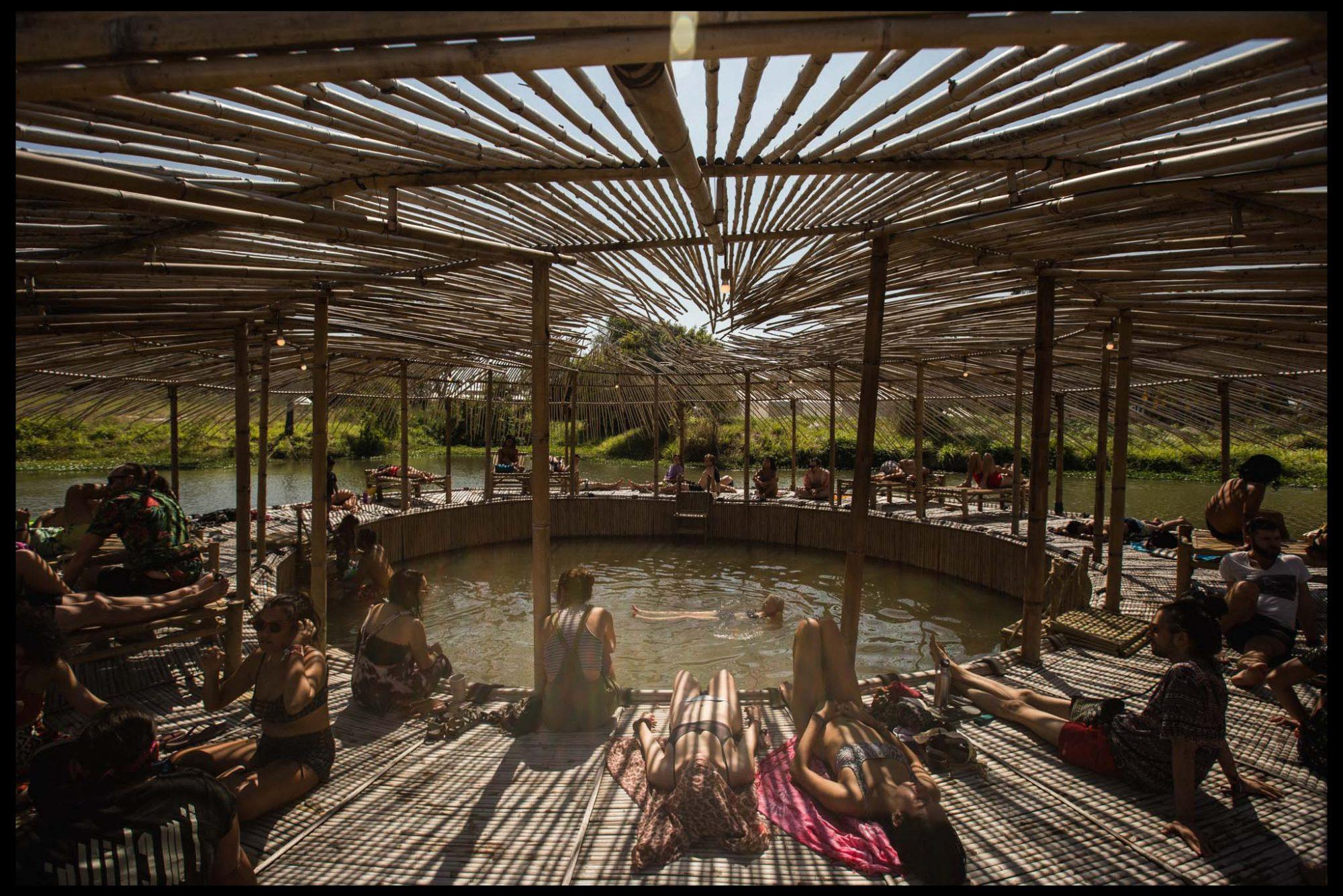 The Bath House at Wonderfruit