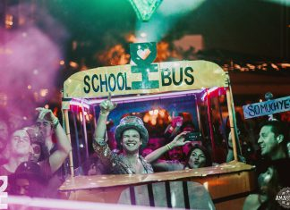 Desert Hearts School Bus