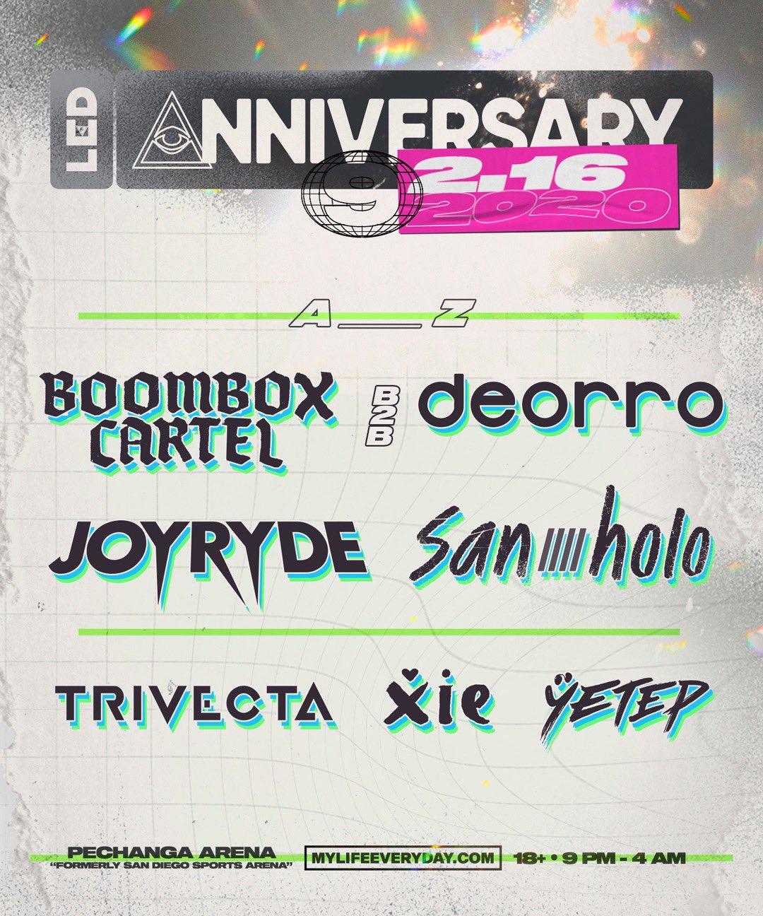 LED Anniversary IX